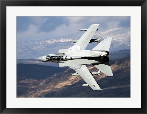 Framed Tornado GR4 of the Royal Air Force Print