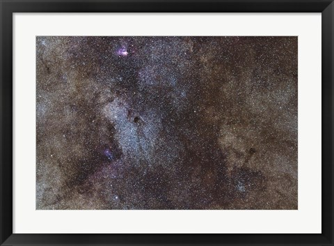 Framed Widefield view of the Sagittarius Star Cloud Print