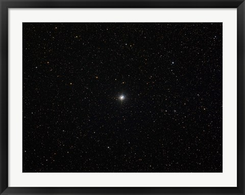 Framed double star Albireo in the constellation Cygnus Print