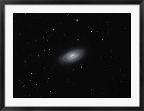 Framed Black Eye galaxy (M64) Coma Berenices Print