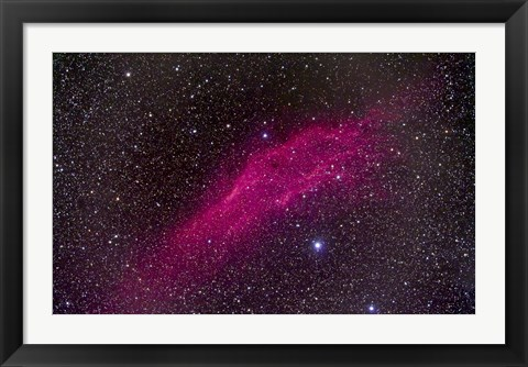 Framed California Nebula Print