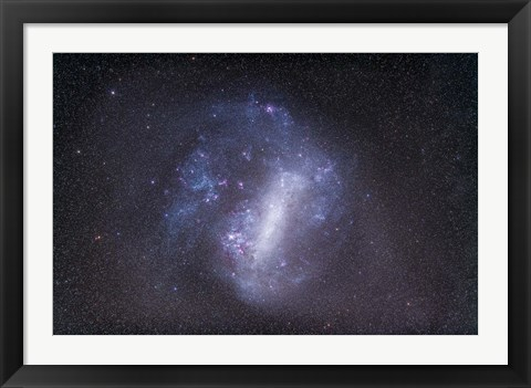 Framed Widefield view of the Large Magellanic Cloud Print