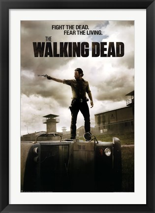 Framed Walking Dead - Season 3 Jailhouse Print