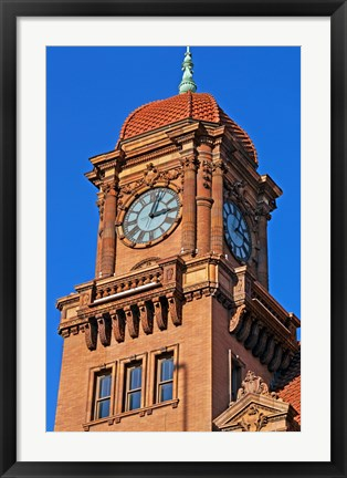 Framed Main street station, Richmond, VA Print