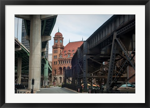 Framed Richmond virginia Print