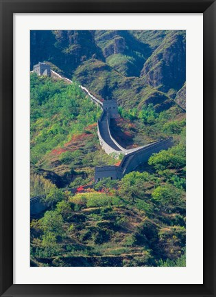 Framed Great Wall, China Print