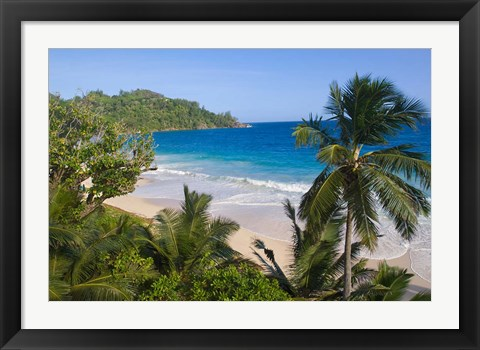 Framed Beach at Banyan Tree Resort, Intandance beach. Print