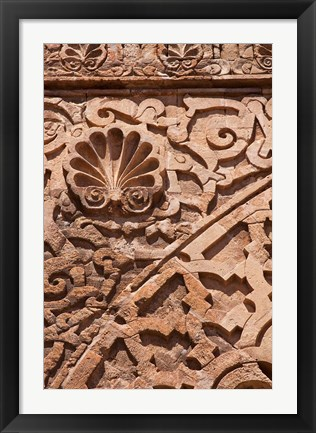 Framed Architectural Detail, Rabat, Morocco Print