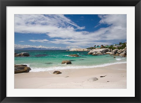 Framed Cape Town, South Africa. The Cape Peninsula Print
