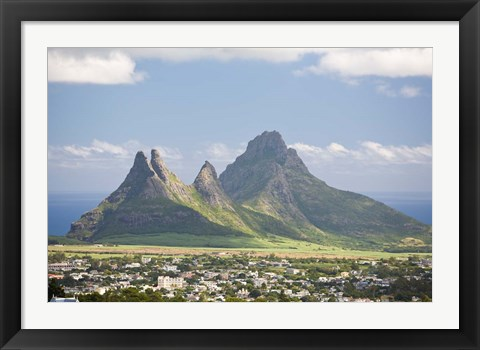 Framed Gorges, Black River Gorges NP, Mauritius, Africa Print