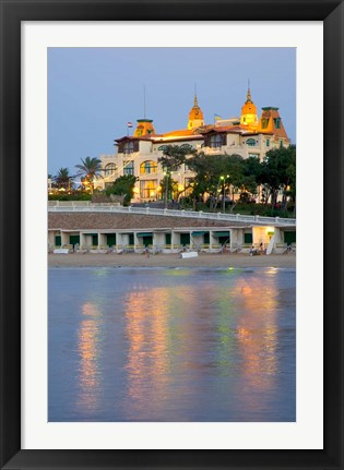 Framed El Salamiek Palace Hotel and Casino, Alexandria, Egypt Print