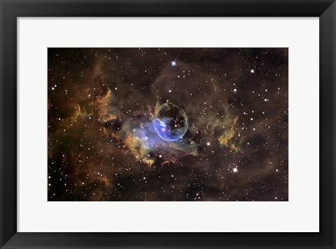 Framed Bubble nebula Print