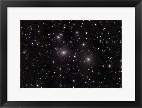 Framed PerClusterA  Great galaxy cluster Perseus A Print