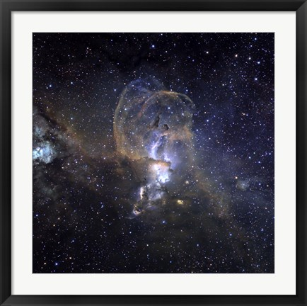 Framed Loops of NGC 3576 Print