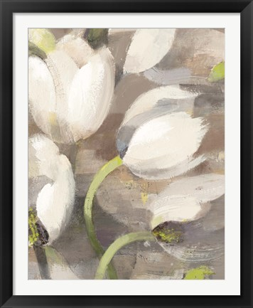 Framed Tulip Delight II Print