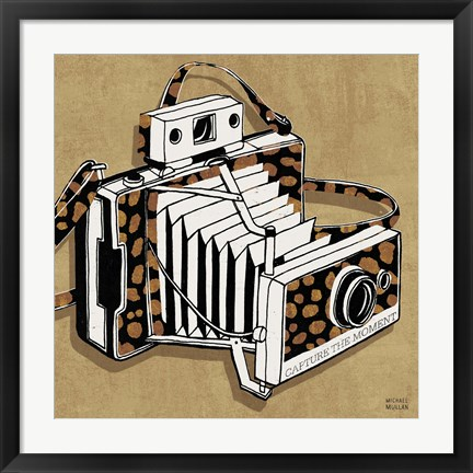 Framed Analog Jungle Camera Print