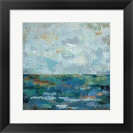 Framed Seascape Sketches II Print