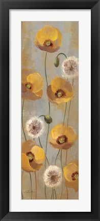Framed Spring Poppies II Print