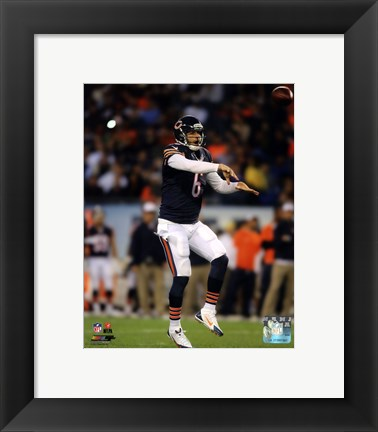 Framed Jay Cutler 2014 Action Print