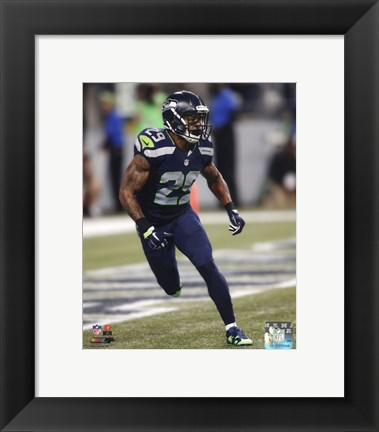 Framed Earl Thomas 2014 Action Print