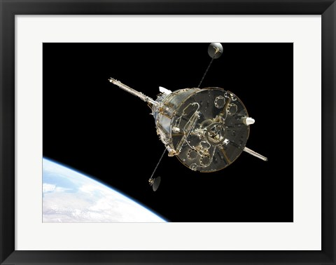 Framed Hubble Space Telescope Print