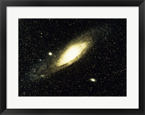Framed Great Nebula in Andromeda Print