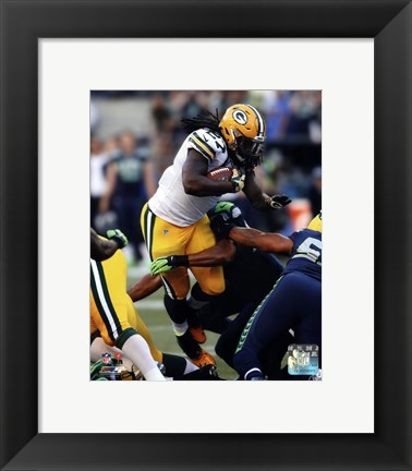 Framed Eddie Lacy Tackled Print