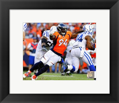 Framed DeMarcus Ware 2014 Print