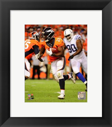 Framed Montee Ball 2014 Action Print