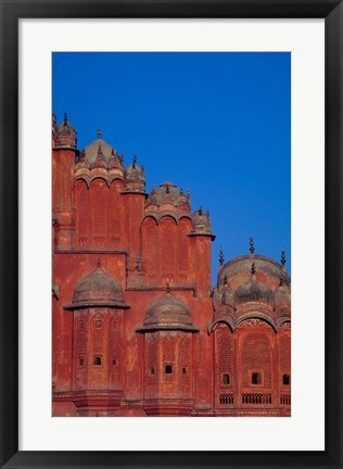 Framed Hawa Mahal (Palace of Winds), India Print