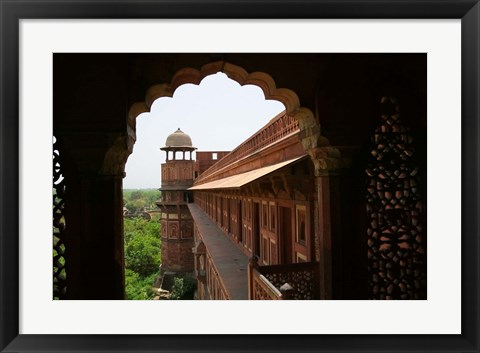 Framed Architecture of Agra Fort, India Print