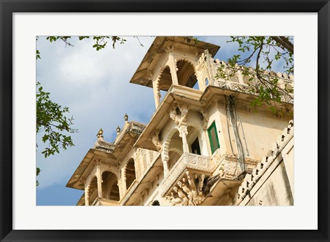 Framed City Palace, Udaipur, Rajasthan, India Print