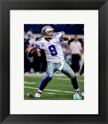Framed Tony Romo 2014 Action Print