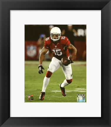 Framed Michael Floyd 2014 with the ball Print