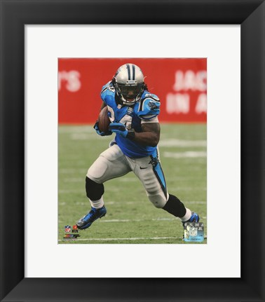 Framed DeAngelo Williams 2014 Action Print