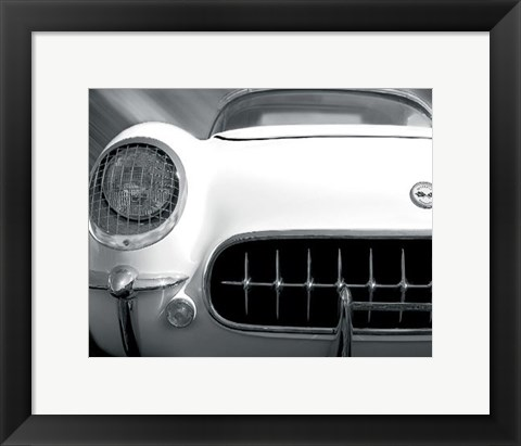 Framed Royal Corvette Print