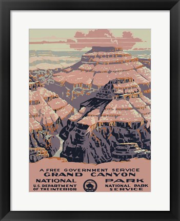 Framed Grand Canyon National Park Print