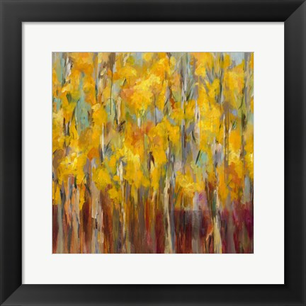 Framed Golden Angels in the Aspens Print