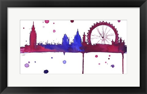 Framed London Baby Print