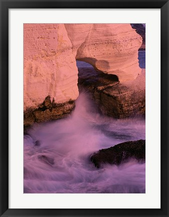 Framed Elephants Foot Limestone Formation, Israel Print