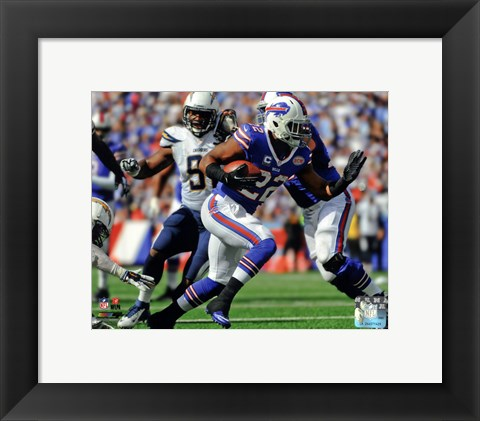 Framed Fred Jackson 2014 Action Print