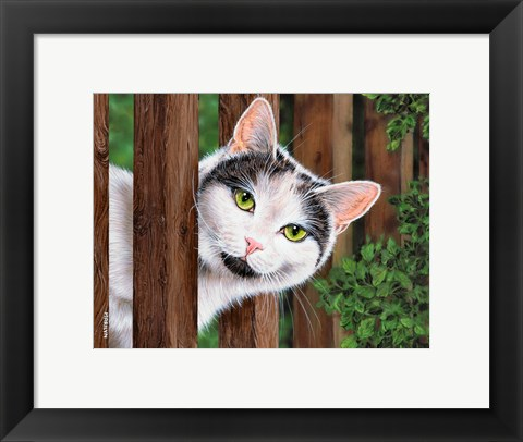 Framed Howdy Neighbor Print