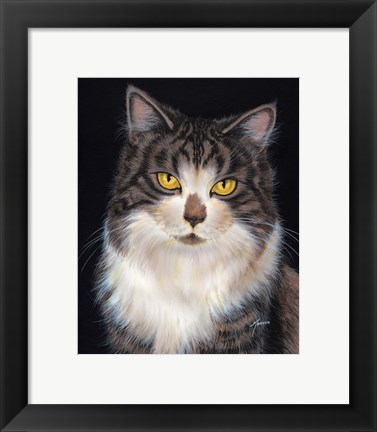 Framed Look Into My Eyes Print