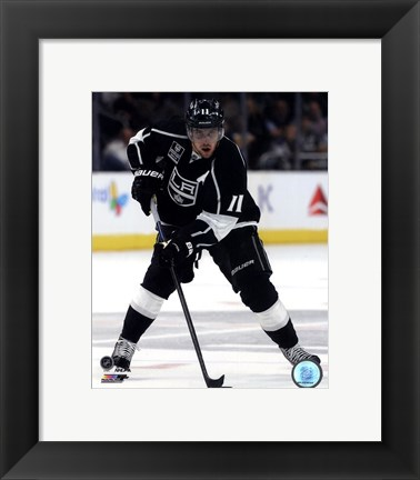 Framed Anze Kopitar 2014-15 Action Print