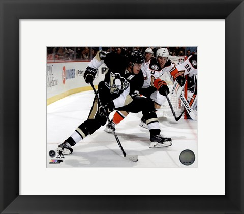 Framed Evgeni Malkin 2014-15 Action Print