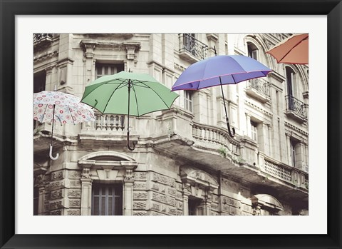 Framed Colorful Urbanities Print