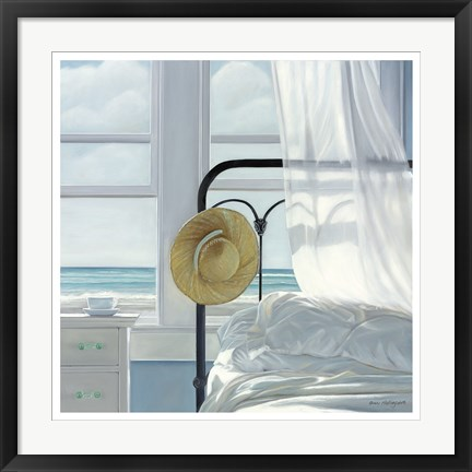 Framed Sand in the Sheets Print