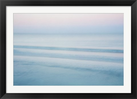 Framed Three Waves, Crescent Beach Print