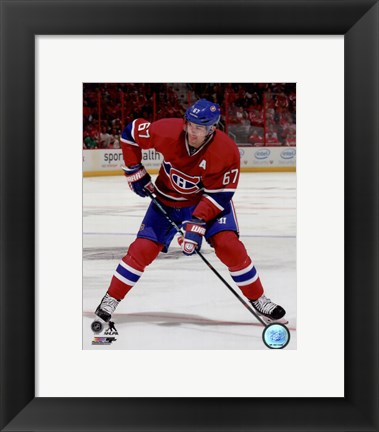 Framed Max Pacioretty 2014-15 Action Print