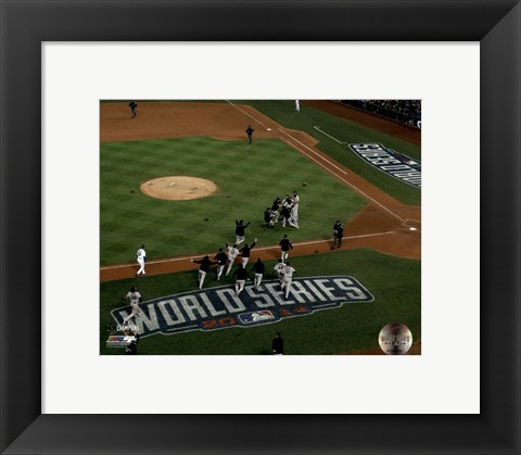 Framed San Francisco Giants Game 7 of the 2014 World Series Print